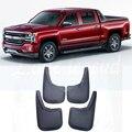Подходит для Chevrolet Silverado 2014-2018 4 шт передние и задние брызговики Брызговики