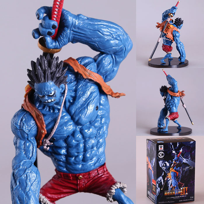 1 Pcs Anime One Piece Figure Blue Nightmare Monkey D Luffy PVC Action Figure 18CM Pesadilla Luffy Collectible Model Figurine Toy