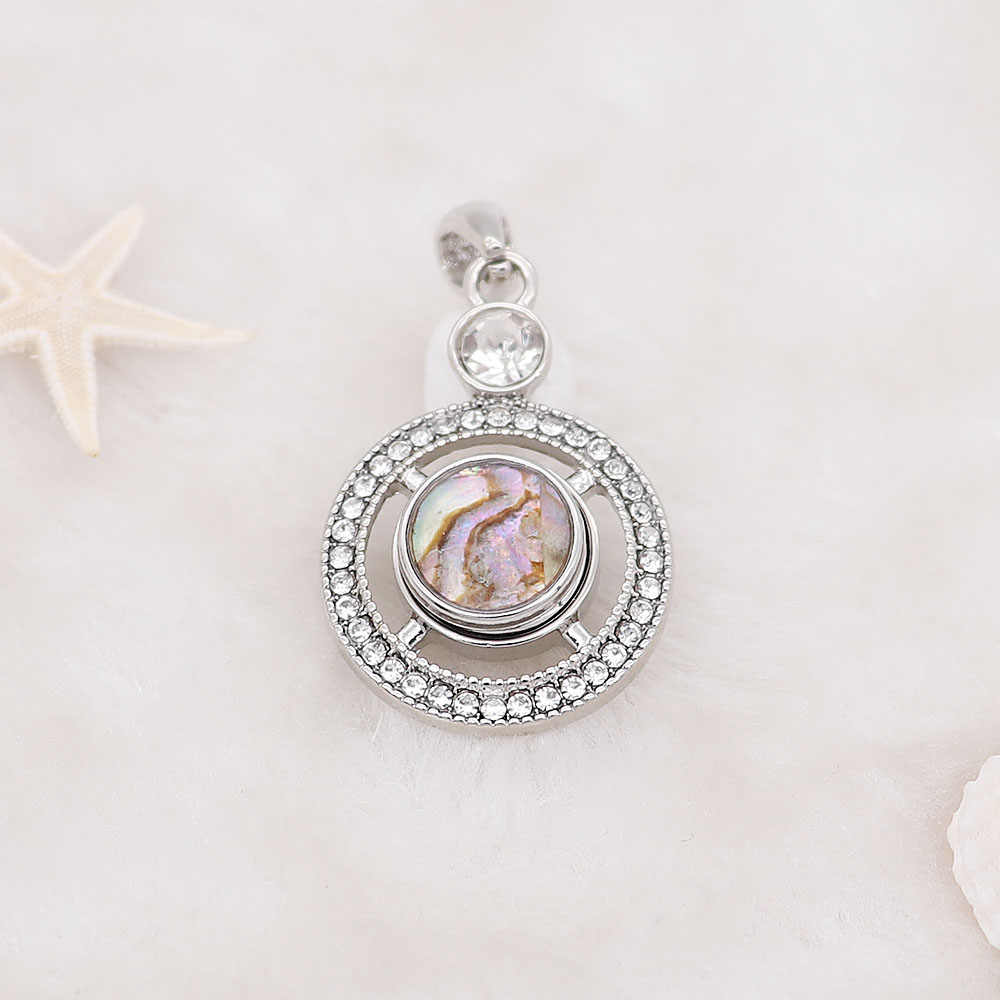2019 joyería a presión de moda con diseños de concha de colores botones a presión de Metal para 12mm pulseras a presión collares brazalete para mujeres niños