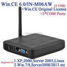 N380W тонкий станция с linux поддержка настроены 2 RS232 оригинальный WIN. CE 6.0 COA превратить один сервер на несколько компьютеров через RDP