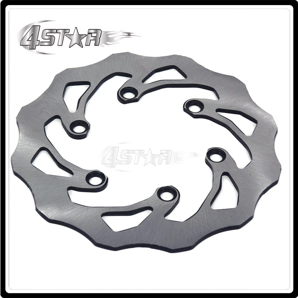 Motorcycle 220MM Rear Brake Disc Rotor For Kawasaki KDX125 KDX220 KDX200 KDX250 KLX250S KLX250 D-TRACKER KLX300R Suzuki 250 SB for kawasaki kx125 klx250 kdx200 kdx225 kdx250 motorcycle rear brake disc brake disks motorcycle parts