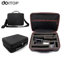 DOITOP For GoPro Xiaoyi Action Camera Hard Storage Box Shoulder Bag Waterproof Case For Zhiyun Smooth