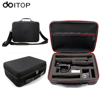 DOITOP For GoPro Xiaoyi Action Camera Hard Storage Box Shoulder Bag Waterproof Case For Zhiyun Smooth