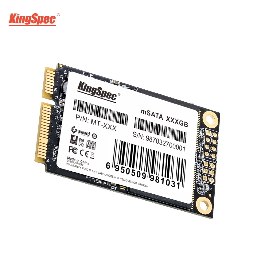 MT-256 KingSpec 256 gb mSATA SSD 6 gb/s Interne Solid State Disque Dur Flash MLC PCI-e mini SATA HDD Pour ultrabook Tablet Ordinateur Portable
