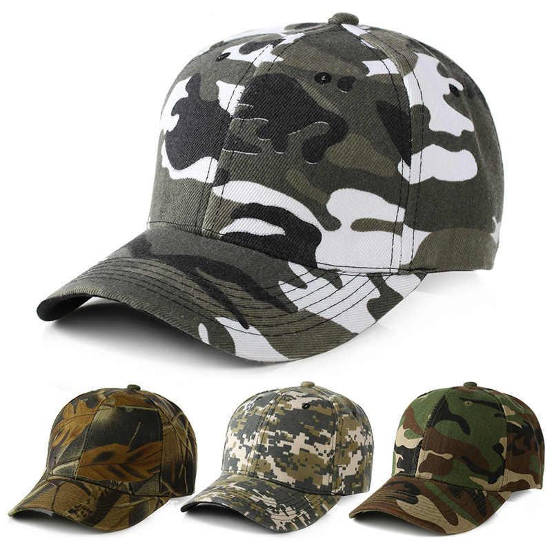 99a8e99e 2019 Snow Camo Baseball Cap Men Tactical Cap Camouflage Snapback Hat For Men  High Quality Bone