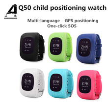 Купить с кэшбэком Kids Smart Watch GPS Phone Smart Bracelet Hlemfo Lem GPS Tracker Anti-Lost One Button SOS Positioning Baby Position IOS Android
