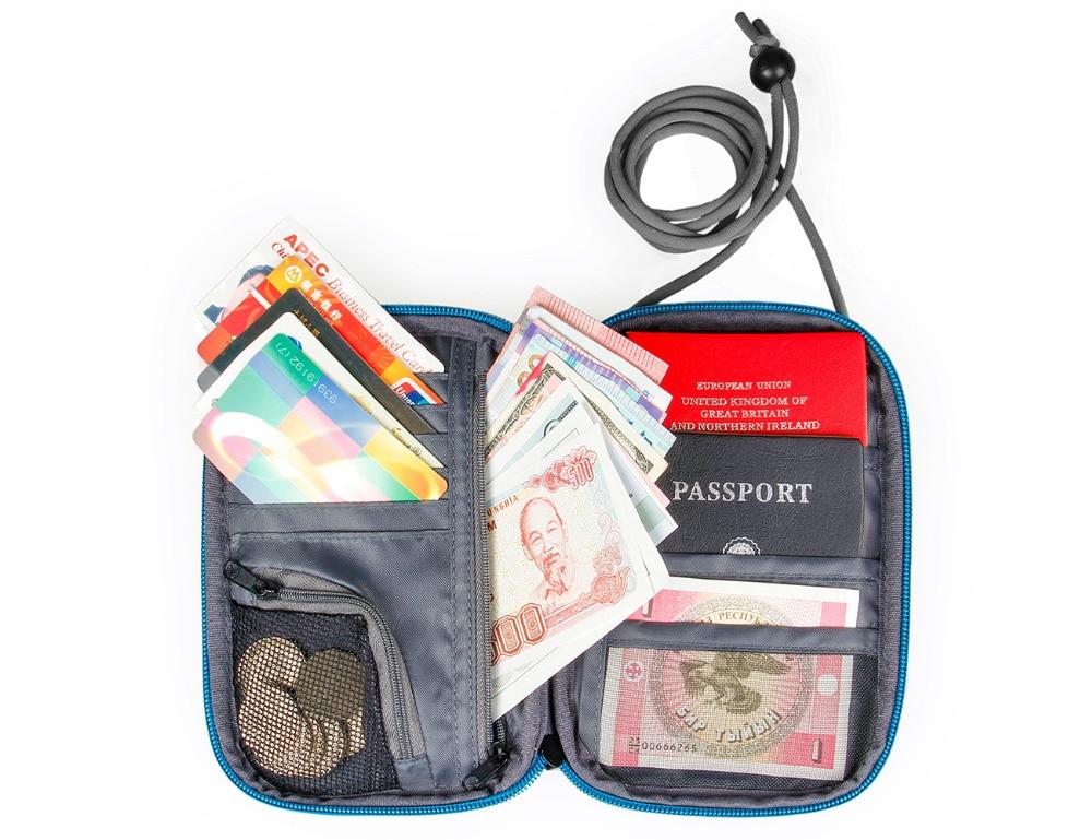 WORTHFIND паспорт әмиянына арналған - Багаж және саяхат сөмкелері - фото 6