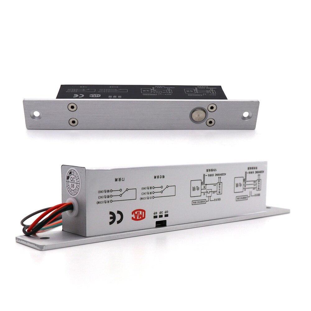 Nouveau 09 petite prise électrique à face étroite avec retard à basse température avec système de contrôle d'accès de porte en verre