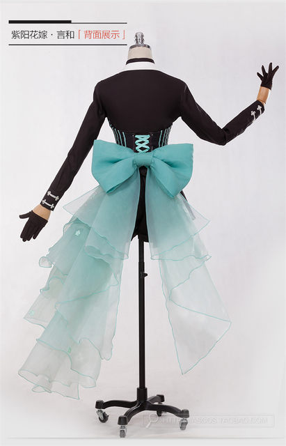 Online Shop Anime Vocaloid Luo Tianyi Yan He Cosplay Costume Wedding ...
