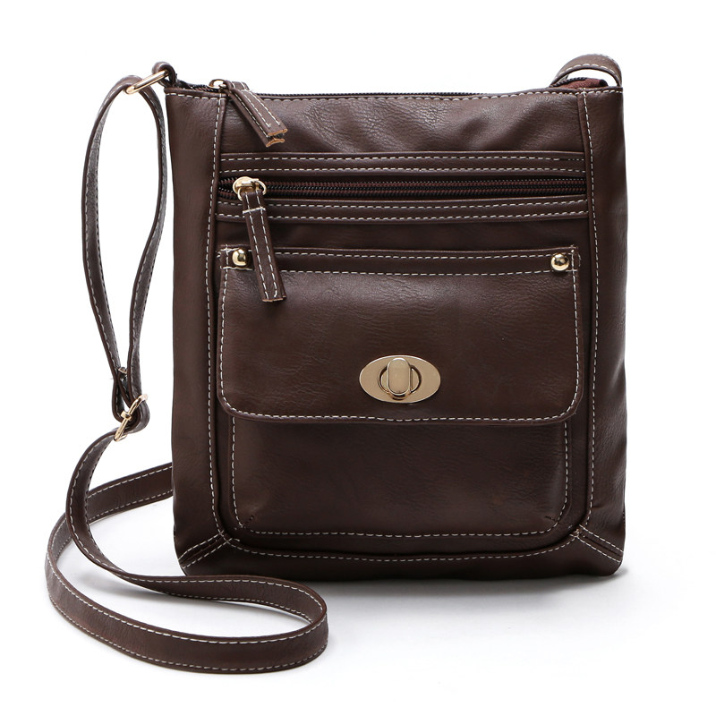 Auhwone Brand Shoulder Bags for Women 2017 Luxury Vintage Crossbody Bags Female Black Brown Fashion Flap Bags Ladies Small Bag nucelle brand design vintage luxury leopard with horse coat cow leather women ladies handbag shoulder crossbody flap bags