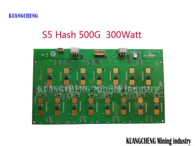 KUANGCHENG Mining industry sell antminer S5 557Gh/s miner Fitting,30 chip PCB, 28 NM,bitcoin, asic miner, SHA256 miner,BM1384