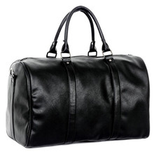 Fashionable Men's Waterproof Leather Travel Bag Simple Casual Luggage Women Travelling Bags Black Designer Travel Bags H015