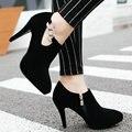 Aiweiyi sapatos mulher mary jane sapatas das senhoras sapatos de noiva sapatos de salto alto pontas do dedo do pé bombas strass casamento sapatos zapatillas mujer
