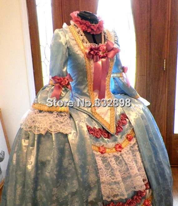 Marie Antoinette Französisch Kolonial Beethoven Waltz Venedig - Damenbekleidung - Foto 3