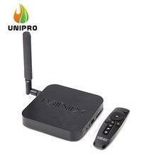 AUF LAGER! minix neo u1 android tv box amlogic s905 quad core 2g/16g 802.11ac 2,4/5 GHz WiFi H.265 HEVC 4 Karat HD IPTV Smart TV Box(China (Mainland))