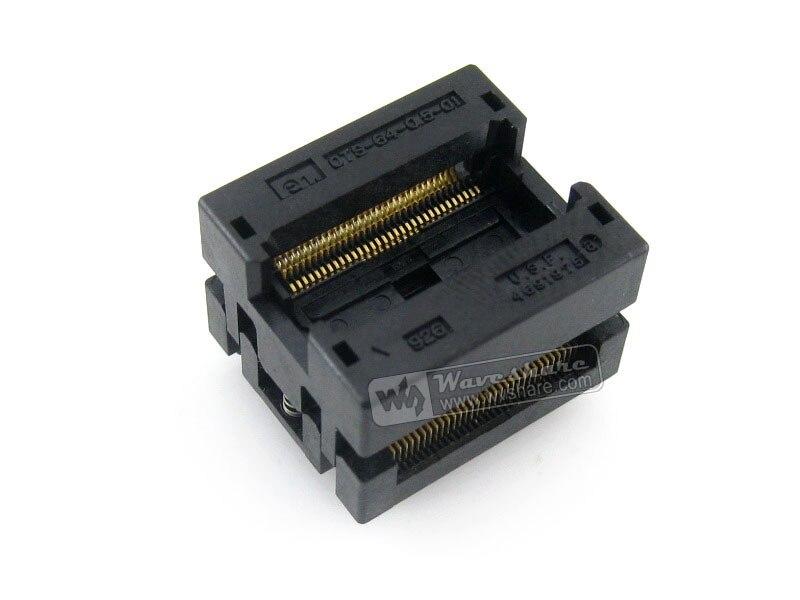 ФОТО Enplas IC Test Socket Adapter OTS-64-0.5-01 0.5mm Pitch SSOP64 TSSOP64 Package Free Shipping