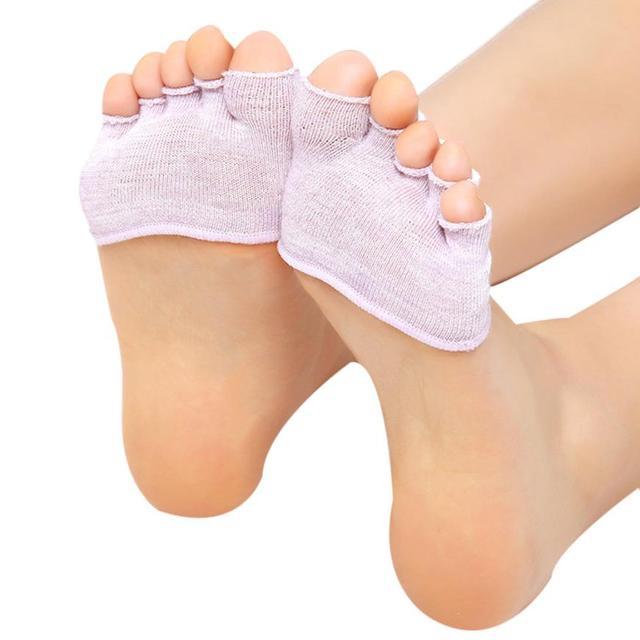 Calcetines antideslizantes de algodón para yoga