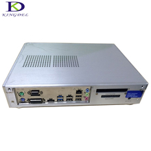 Полный металлический корпус мини-компьютер intel celeron g3900 cpu 2.80 ГГц настольных ddr4 озу hdmi dvi vga порт htpc