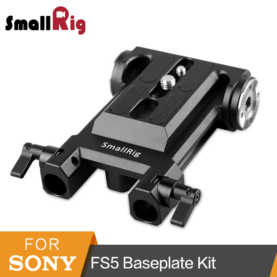 SmallRig for Sony FS5 Camera Baseplate with ARRI Rosette Mount Accessories Kit 1827