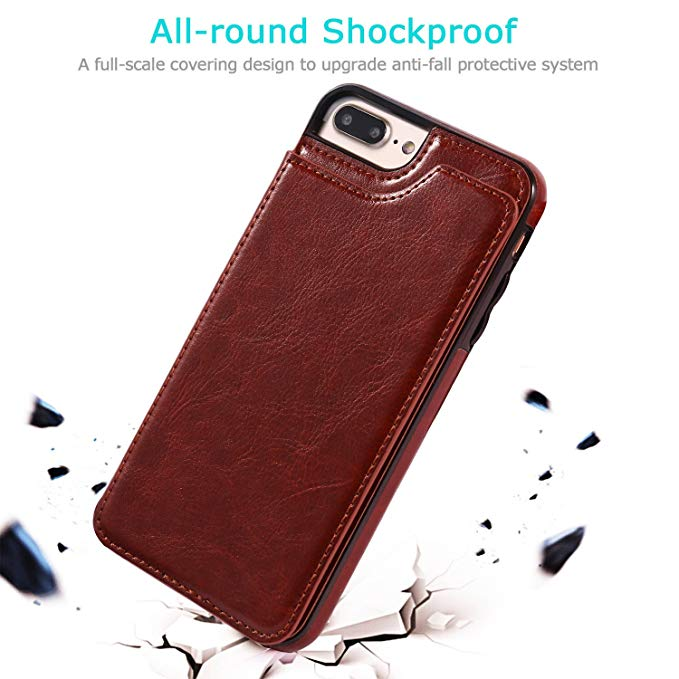 HTB1N0nTavc3T1VjSZLeq6zZsVXaA Luxury Slim Fit Premium Leather Cover For iPhone 11 Pro XR XS Max 6 6s 7 8 Plus 5S Wallet Case Card Slots Shockproof Flip Shell