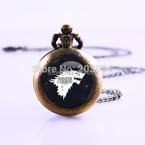 New American TV Series Game of Thrones Inspired 1pcs/lot Movie Thrones Necklace Video Po ...