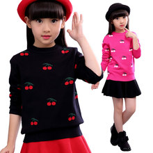 2018 Autumn Winter Cotton Sweater Top  Girls Baby Kids pullover Cartoon Sweaters  wear Coats Children Clothing 6 8 10 12 years