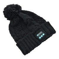 Christmas Gift Beanie Hat Phones Wireless Bluetooth Earphone Smart Headset Speaker Mic Winter Outdoor Sport Stereo