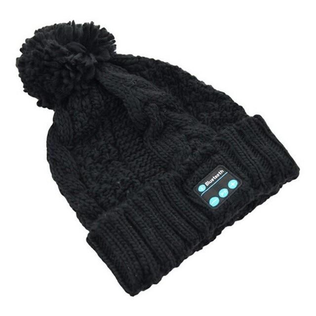 Beanie Hat Phones Wireless Bluetooth Earphone Smart Headset Speaker Mic  Winter Outdoor Sport a5effba021d