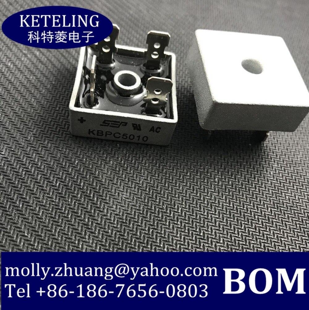 Livraison gratuite KBPC5010 PONTE KBPC 50A DIODE GPP 1000 V dans Capteur de température de Automobiles et Motos