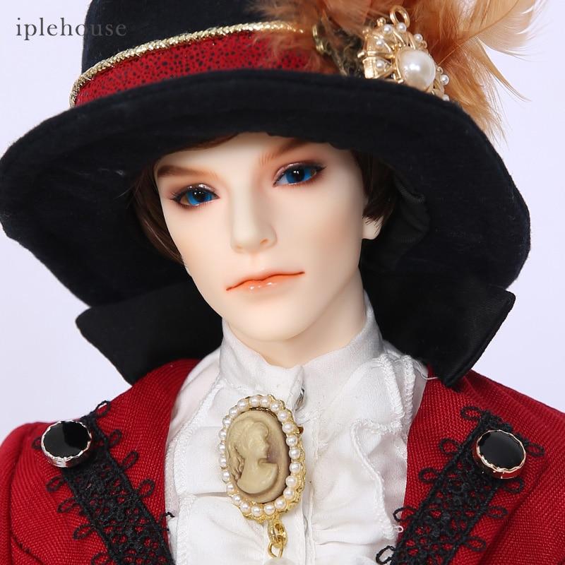 Burrell BJD SD Doll 1/4 Body Model Boys Resin Toys For Girls Birthday Xmas Best Gift