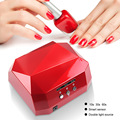 LKE 36W UV LED Lamp Nail Dryer 4 Color Diamond Shaped LED UV Lamp Nail Lamp Curing for UV LED Gel Nails Polish Nail Art Tools