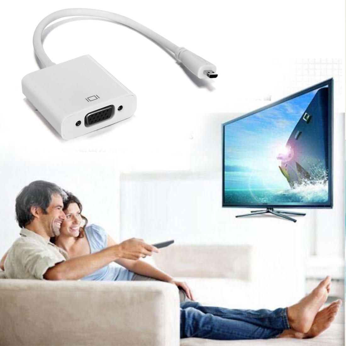 """""""Marsnaska"""" vyrų ir moterų HDMI ir VGA konverteris Video Converter adapteris """"Xbox 360"""" PS3 LCD LED monitoriams"""