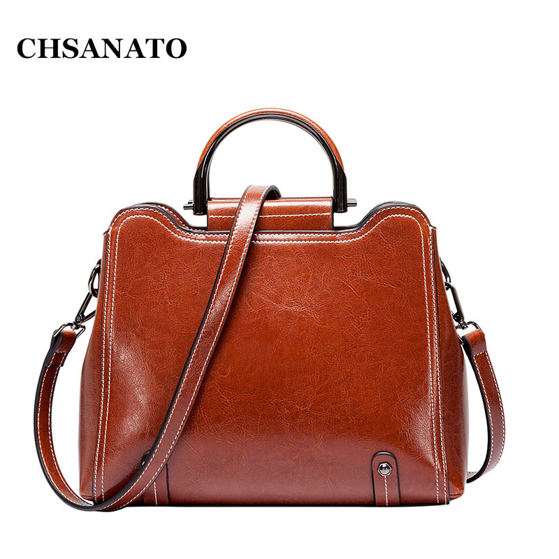 CHSANATO New Arrival Metal Ring Design Luxury Female Bags Genuine Leather Women Messenger Bags Fashion Star Style cross-body BagCHSANATO New Arrival Metal Ring Design Luxury Female Bags Genuine Leather Women Messenger Bags Fashion Star Style cross-body Bag