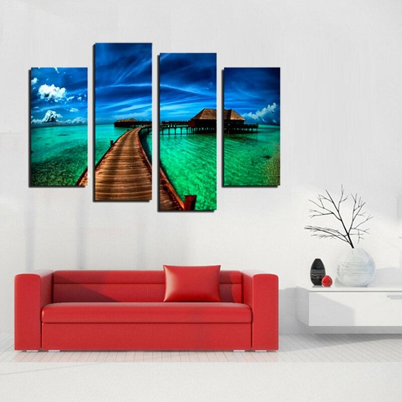 Кадр 4 панелі сучасний вид на море - Домашній декор - фото 3