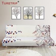 Turetrip 1PC Printing Sofa Bed Cover Futon Slipcover