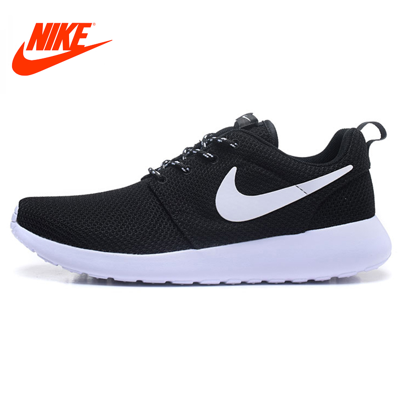 Original New Arrival Authentic Nike ROSHE ONE RUN Men's Breathable Running Shoes Sport Outdoor Sneakers 511881-020 nike roshe run men mesh breathable running shoes sneakers trainers 511881 405