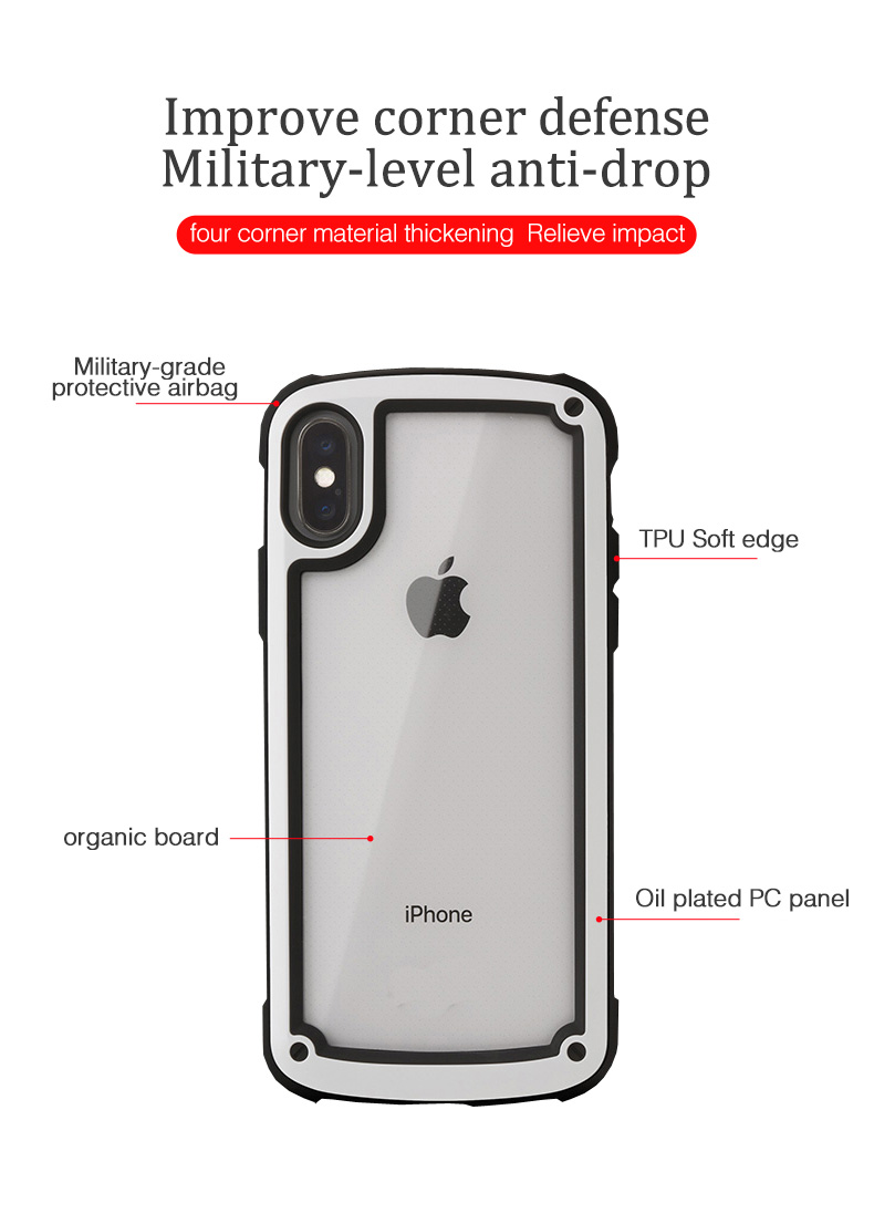 LUPHIE Luxury Transparent Case For iPhone X XS Max XR 8 7 Plus (4)