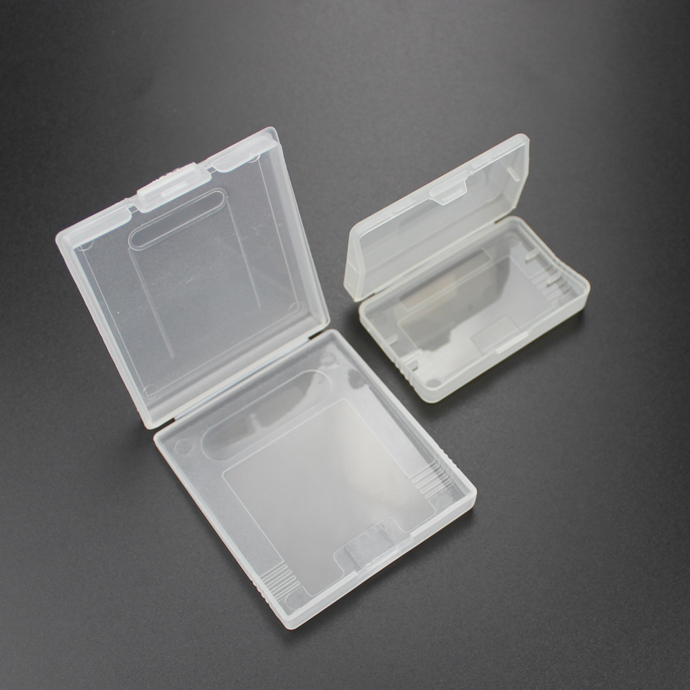Image 2 - 1pc Game Cartridge Plastic Cases Game Cards Storage Box For Nintendo GameBoy For Pocket GBA GBC GBP Protector Holder Cover Shell-in Replacement Parts & Accessories from Consumer Electronics