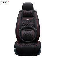 Yuzhe Leather Car Seat Cover For Toyota Honda Nissan Mazda Lexus Jeep Subaru Mitsubishi Suzuki Kia