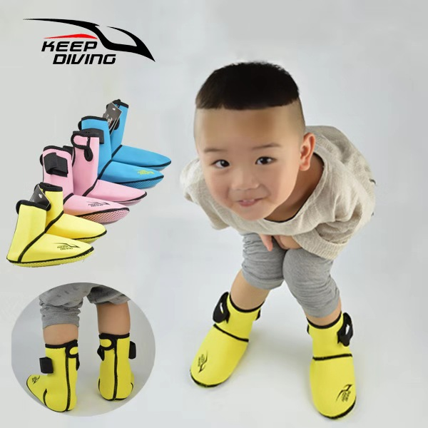 3MM Neoprene Snorkeling Shoes For Kids Scuba Dive Socks For Child Beach Boots For Junior Winter Swim Keep Warm