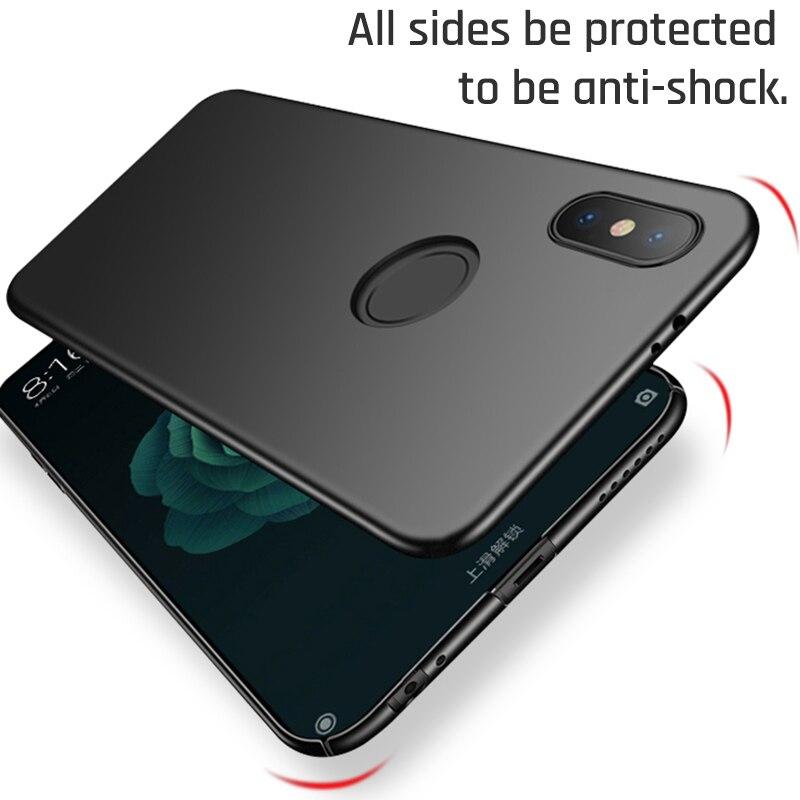For Xiaomi PocoPhone F1 Cases for Xiaomi Mi 8 lite A1 A2 6 Ultra Thin Slim Back Cover for Xiaomi Mi Mix 2S Max 2 3 Bumper Funda
