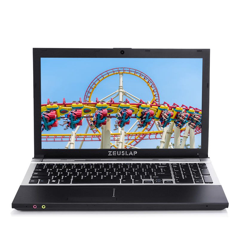 15.6inch Intel I7 4GB RAM 256GB SSD 500GB HDD 1920x1080P WIFI Bluetooth DVD Rom Windows 10 Notebook PC Computer Laptop