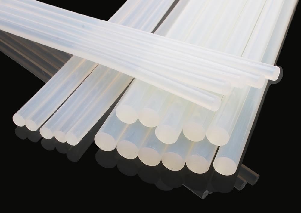 11mm Transparent Hot Melt Glue Stick Heat Pistol Electric Glue Gun Adhesive Rod Fixed Object Glass Home Repair Tool Accessories