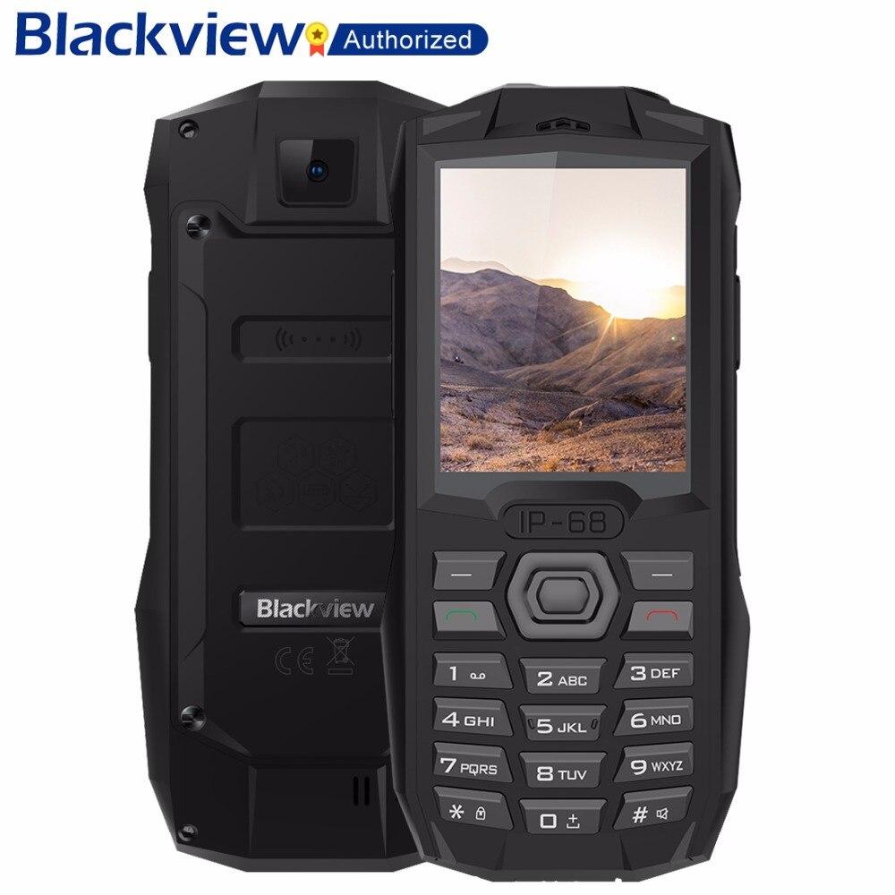 Blackview BV1000 IP68 водозащитный мобильный телефон 2,4 MTK6261D Беспроводной FM радио 3000 мАч 0.3MP Dual SIM прочный сотовый телефон