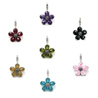 Thomas Style Big Crystal Flower Charms With Lobster Clasp For Bracelet From Glam Soul In 925