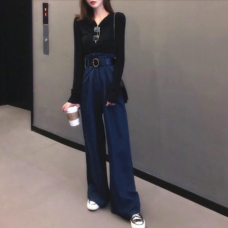 New Women Leather Skinny Pants 100/% Lambskin Leather Stylish Trousers XS-2XL W34