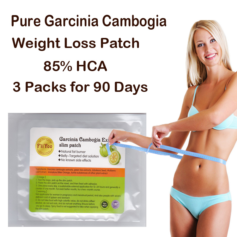 FiiYoo 90 DAYS USE Pure garcinia cambogia extracts diet patch weight loss pad 85% HCA 100% effective for slimming 2 bottles 120 pcs pure garcinia cambogia extracts weight loss 95% hca 100% effective for slimming supplement