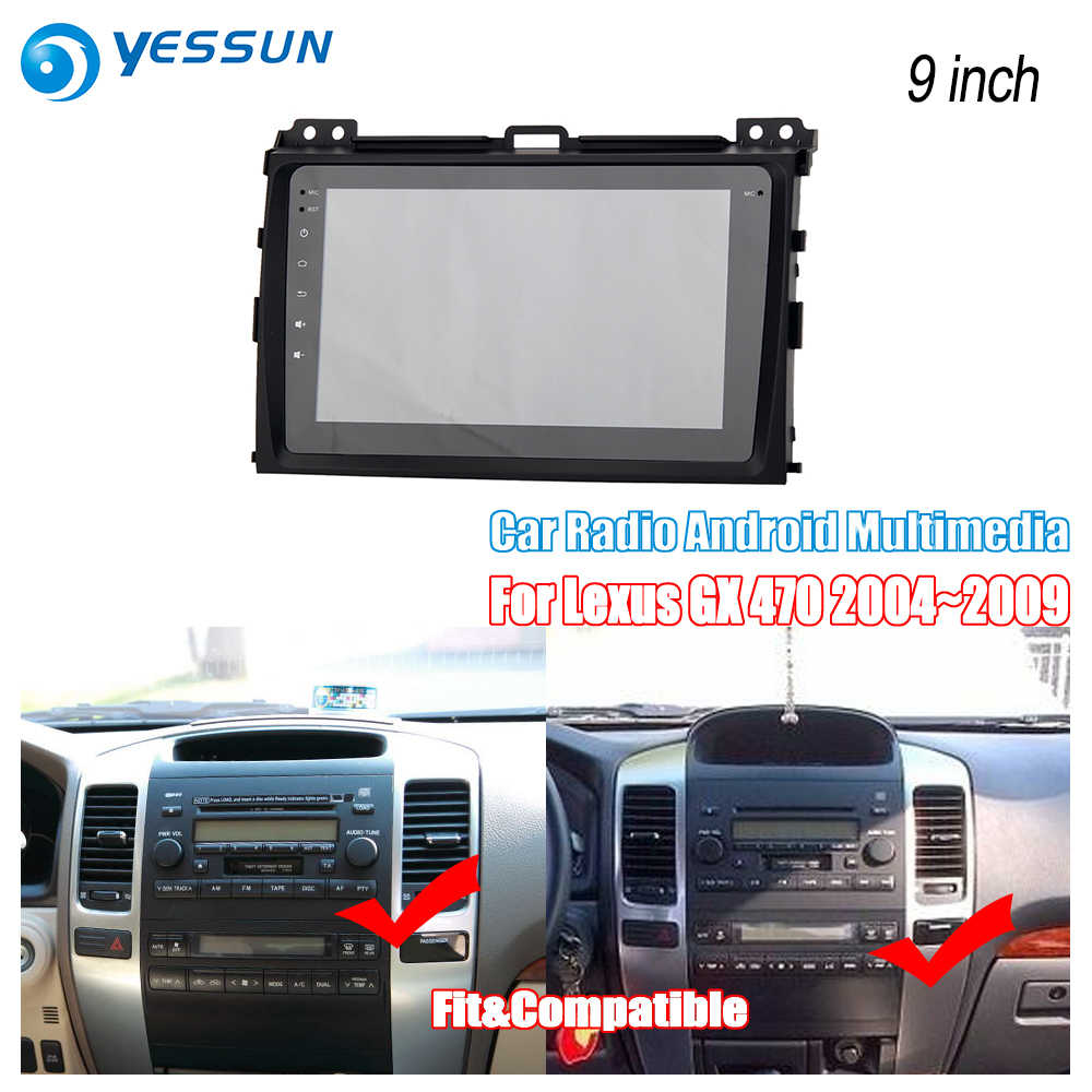 YESSUN For Lexus GX 470 2004~2009 Car Android Radio Carplay GPS Navi maps  Navigation Multimedia Player Stereo no CD DVD