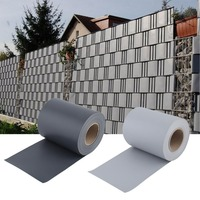 PVC Garden Fence Screening Portable Fence Screen Durable Weatherproof Privacy Roll 0.19*35M UV Resistant Fence Foil