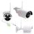 4CH 8CH 720 P 960 P 10 Pulgadas Visualizador Inalámbrico Sistema de CIRCUITO CERRADO de televisión NVR Cámara IP IR-CUT Bala CCTV Seguridad Para El Hogar Sistema de CCTV Kit